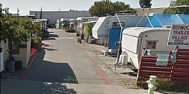 Mobile Home Trailer Park – Redwood City